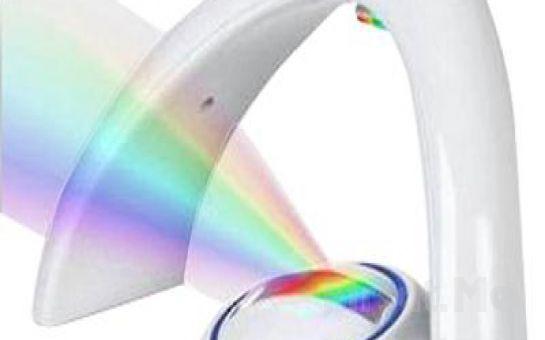Gökkuşağını Seyretmek İçin Artık Yağmur Sonrasını Beklemeye Gerek Yok Gök Kuşağı Gece Lambası Rainbow