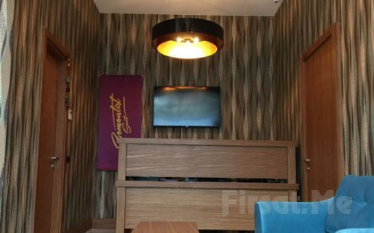 Ümraniye Bomontist Suite Hotel'de 2 Kişi 1 Gece Konaklama ve Kahvaltı Keyfi!