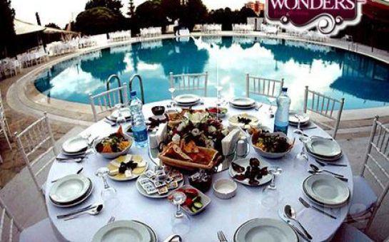 Çankaya Wonders Pool'da, Cumartesi ve Pazar Günlerine Özel Serpme Kahvaltı Keyfi