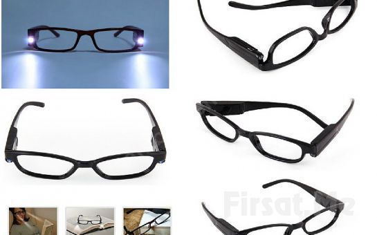 Artık Karanlıkta Bile Kitap Okuyabileceksiniz Led Işıklı Kitap Okuma Gözlüğü