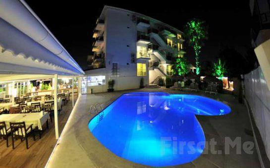Muhteşem Manzarasıyla Ölüdeniz Manas Park Çalış Hotel'de Herşey Dahil Kişi Başı Konaklama Fırsatı!