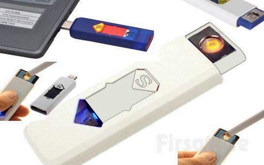 Çevre Dostu USB Şarjlı Alevsiz Elektronik Çakmak!