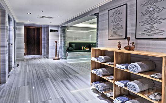 Şişli Mercure Hotel İstanbul Bomonti Hormony Spa'da Profesyonel Terapistler Eşliğinde 50 Dk Masaj, Kese Köpük, SPA Kullanımı Çiftlere Özel Seçeneklerle