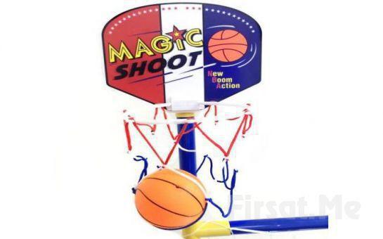 Çocuklarınız için Futbol Kalesi ve Ayaklı Basketbol Potası
