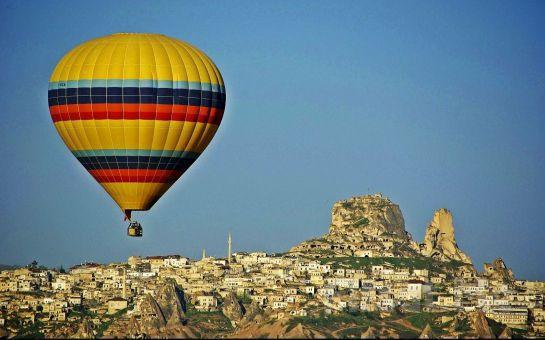 Kapadokya'nın Manzarasını Bulutlara Çıkıp Görmeden Dönmeyin Sarıçamlar Turizm'den Muhteşem Kapadokya Balon Turu