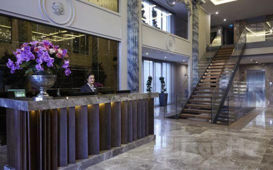 Konforun Adresi Biz Cevahir Hotel Şişli'de 2 Kişi 1 Gece Konaklama Keyfi, Kahvaltı Seçeneğiyle