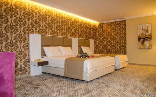 Beylikdüzü Comfort Hotel Haramidere'de 2 Kişi 1 Gece Konaklama ve Kahvaltı Keyfi