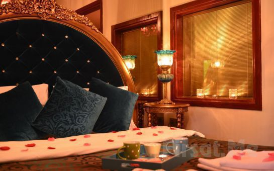 Ağva Sweet Home Otel'de Jakuzili veya Şömineli ve Jakuzili Odalarda 2 Kişi 1 Gece Konaklama, Kahvaltı Keyfi