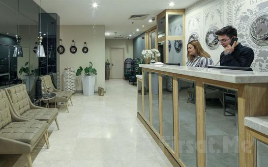Ataşehir'in Merkezinde The Gate 30 Suit'de 2 Kişilik Konaklama Keyfi