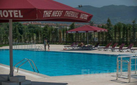 5 Yıldızlı The Ness Thermal Otel'de Muhteşem Bayram Tatili YarIm Pansiyon Plus Konaklama veya Masaj Keyfi