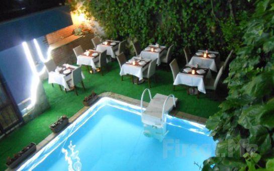 Beykoz Mavilla Hotel'de İçki Dahil Leziz Akşam Yemeği