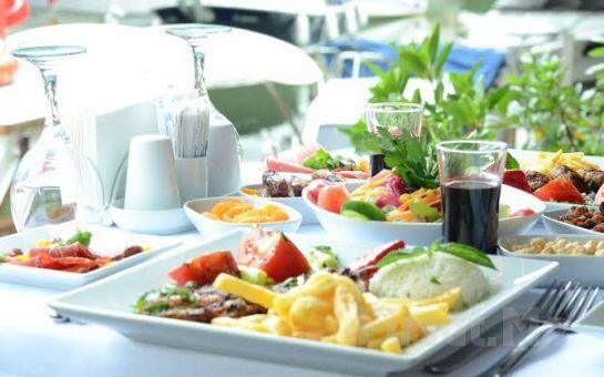 Beykoz Mavilla Hotel'de İçki Dahil Leziz Akşam Yemeği!