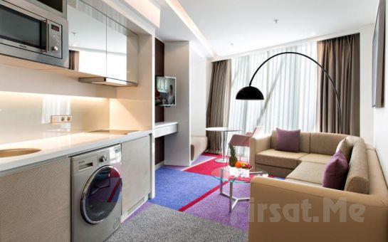 Maltepe Burgu Arjaan by Rotana Hotel'in Modern ve Şık Studio Odalarında 2 Kişi 1 Gece Konaklama Keyfi kahvaltı Seçeneğiyle!