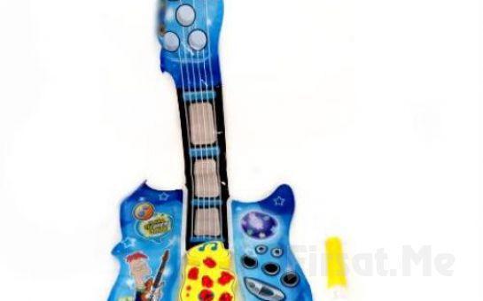 Çocuğunuzun İçindeki Müzik Aşkını Dışarıya Çıkartacak Şişirebilir Müzikli Gitar!