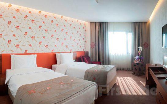 Ramada İstanbul Asia Hotel'de 2 Kişi 1 Gece Konaklama Keyfi