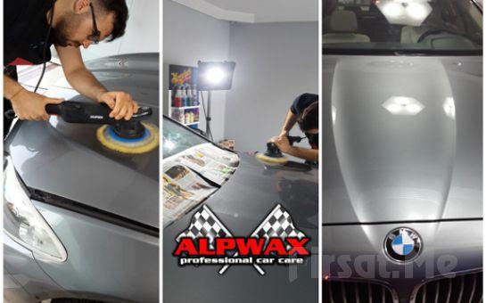 Avcılar ALPWAX Oto Kuaför'de Pasta Cila , Çizik Giderme , Boya Koruma + Yağmur Kaydırıcı Cam Su İtici Meguiar's Ürünleri İle 15 Farklı Uygulama!