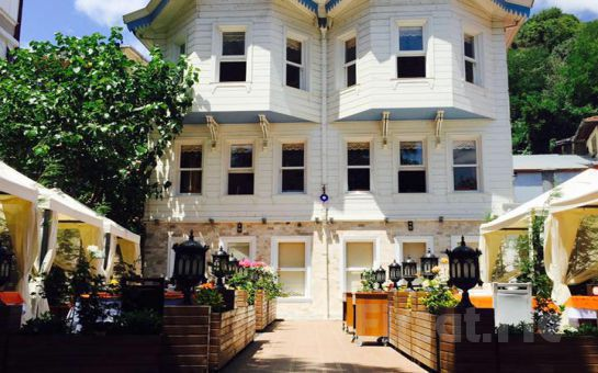 Sarıyer Rumeli Kavağı Beykonağı Restaurant'ta Sınırsız Çay Eşliğinde Serpme Köy Kahvaltısı