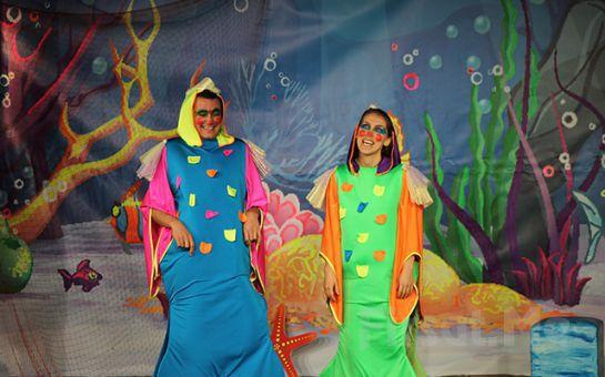 İstanbul Kumpanyası Ayrıcalığı İle DENİZ KIZI LULU İLE BLU GLU Adlı Müzikli Çocuk Oyunu