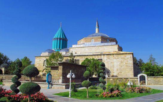 Sarıçamlar Turizm'den 5* Otelde Yarım Pansiyon Konaklamalı Konya Şeb-i Arus, Kapadokya Turu