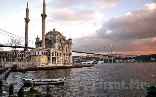 Ortaköy My Deniz Restaurant'ta Boğaz'ın Enfes Güzelliği ile Birlikte İçki Dahil Leziz Akşam Yemeği (Ücretsiz Vale)