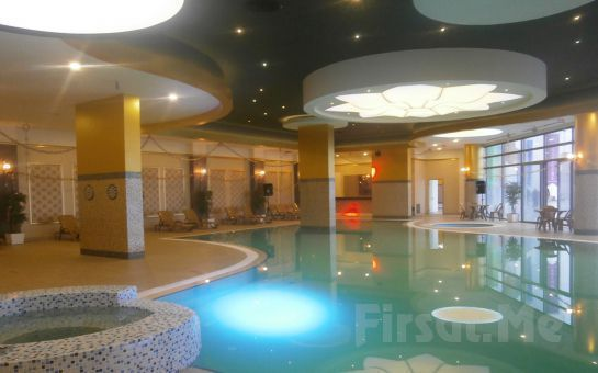 Naskon Sapphire Resort & Spa Ankara Ayaş'da Konaklama ve Kahvaltı, SPA & Termal Tesis Kullanımı Yarım Pansiyon Seçeneği Fırsatı!