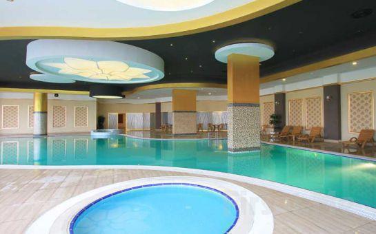 Naskon Sapphire Resort, Spa Ankara Ayaş'da Konaklama ve Kahvaltı, SPA, Termal Tesis Kullanımı Yarım Pansiyon Seçeneği Fırsatı