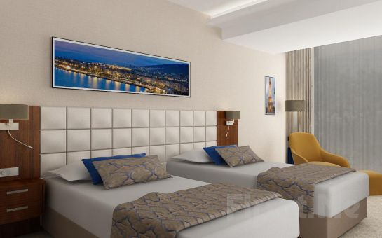 Best Western Premier Otel Karşıyaka'da 2 Kişi 1 Gece Konaklama, Kahvaltı Seçeneğiyle!