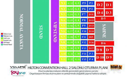 Hilton Convention Center'da Ozan Doğulu, Suat Ateş Dağlı, Doğuş Çabakçor ve Erdem Kınay ile Yılbaşı Fırsatı (Limitsiz Yerli, Yabancı İçki Dahil)