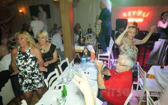 Kadıköy Keyifli Meyhane'de Fasl-ı Şahne, DJ Performance, Oryantal Showlar ve Leziz Tatlar Eşliğinde Yılbaşı Eğlencesi (Sınırsız İçki Dahil)