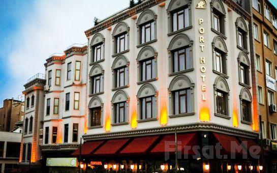 Port Hotel Tophane'de 2 Kişi 1 Gece Konaklama Ve Kahvaltı!