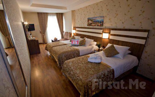Laleli Aspen Hotel İstanbul'da 2 Kişi 1 Gece Konaklama, Kahvaltı, SPA Keyfi