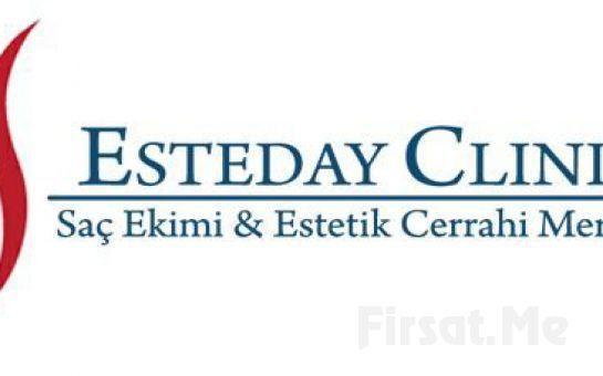 Ataşehir Esteday Clinic'te Saç Dökülmesine Karşı Güvenilir ve Profesyonel 2 Adet PRP Seansı