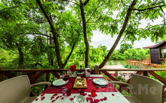 Göksu Nehri Kenarında Ağva El Rio Otel'de Kahvaltı Dahil 2 Kişilik Konaklama Seçenekleri