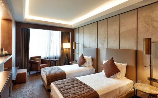 Taksim Naz City Hotel'de 2 Kişi 1 Gece Konaklama ve Kahvaltı Keyfi