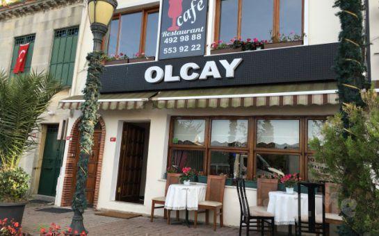 Boğaz Manzaralı Kuzguncuk Olcay Restaurant'ta Soft İçecek Eşliğinde Sınırsız Balık Keyfi!