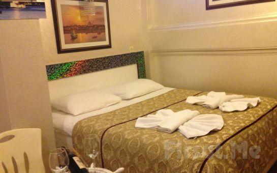 Sultanahmet Seatanbul Apart Otel'in Deniz Manzaralı Odalarında 2 Kişi 1 Gece Konaklama ve Kahvaltı