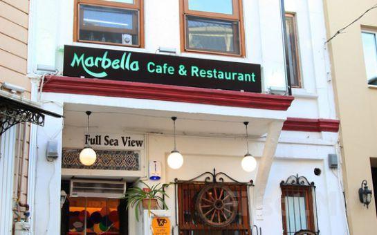 Sultanahmet Marbella Cafe Restaurant'ta Denize Karşı Kahvaltı Keyfi!