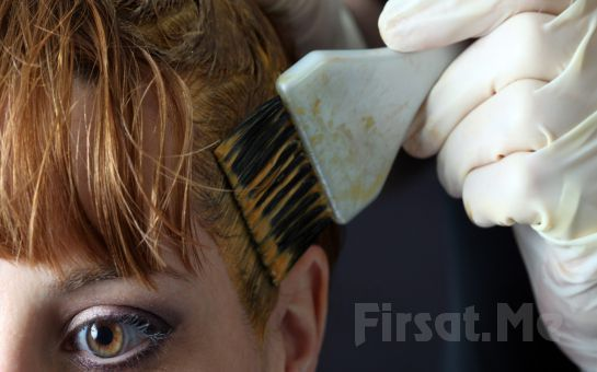 Kendinizi Baştan Yaratın! Kadıköy Fenerbahçe SUNA TUNCA Güzellik'den, Saç Kesimi + Bakım + Dip Boya veya Ombre Seçenekler Paketi!