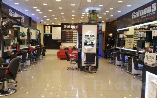 Kozyatağı SaloonS Güzellik'ten, Doğatek Organik Ürünleriyle; Organik Dip Boya, Organik Saç Bakımı, Kesim, Fön Fırsatı