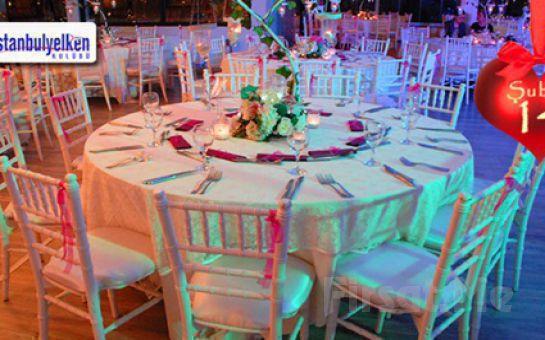 İstanbul Yelken Kulübu Sevgililer Gününe Özel Tango Dans Gösterimi Eşliğinde Akşam Yemeği + 2 Yerli İçecek Fırsatı!