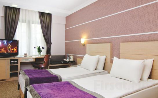 Midas Hotel Ankara'da 2 Kişi 1 Gece Konaklama , Kahvaltı Ve Spa Keyfi!