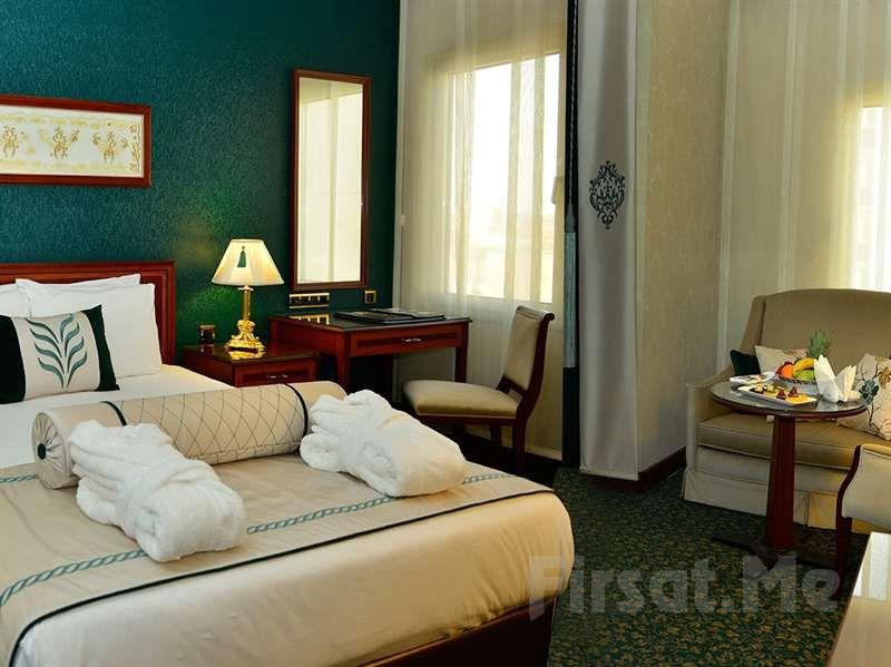 Grand Cevahir Otel Şişli'de 2 Kişi 1 Gece Konaklama ve Açık Büfe Kahvaltı Fırsatı!