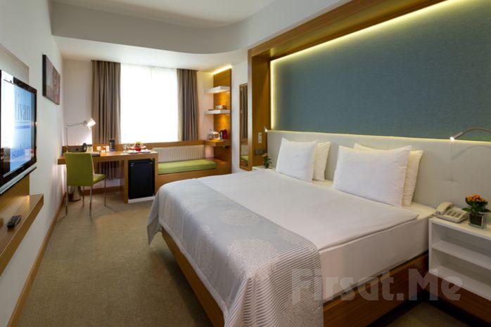 Divan İstanbul City Gayrettepe Hotel'de 2 Kişi 1 Gece Konaklama veya Açık Büfe Kahvaltı + Spa Keyfi! (Bayramda Geçerli!)