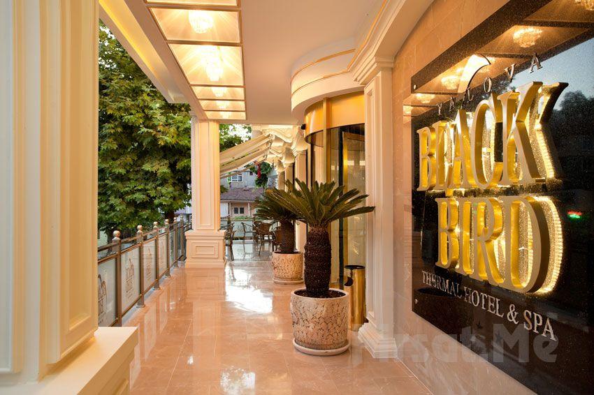 Yalova Black Bird Thermal Hotel & Spa'da 2 Kişilik Yarım ve Tam Pansiyon Konaklama Seçenekleri