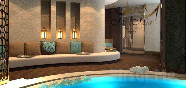 Midmar deluxe hotel spa da profesyonel terapistler for Midmar deluxe hotel