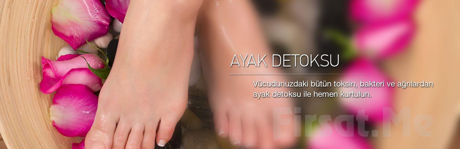 Bahçelievler Haseki Sultan Güzellik Merkezi'nde Ozon Sauna ve Ayak Detoks'undan oluşan Detoks Paketi!