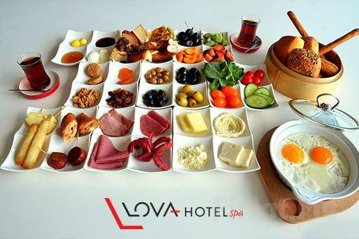 Yalova Lova Hotel & Spa'da; 2 Kişilik Açık Büfe Kahvaltı, Spa ve Masaj Seçenekleri!