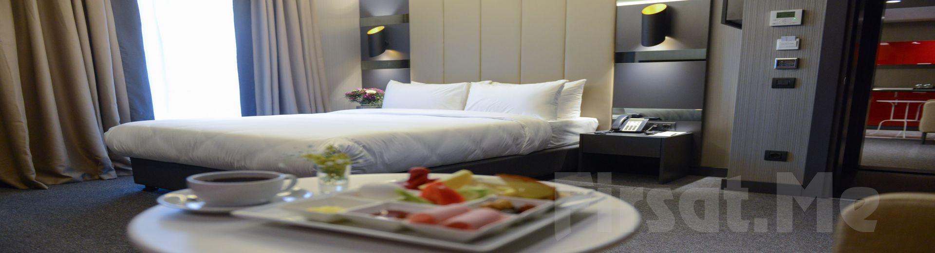 Cityloft 24 Suites Ataşehir'de 2 Kişi 1 Gece Konaklama ve Kahvaltı Seçenekleri