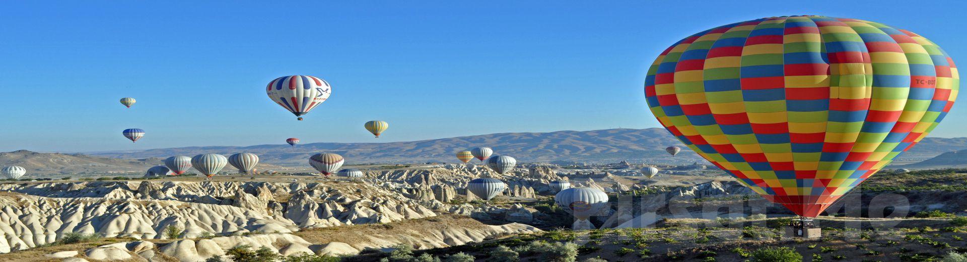 Kapadokya'nın Manzarasını Bulutlara Çıkıp Görmeden Dönmeyin! Sarıçamlar Turizm'den Muhteşem Kapadokya Balon Turu!
