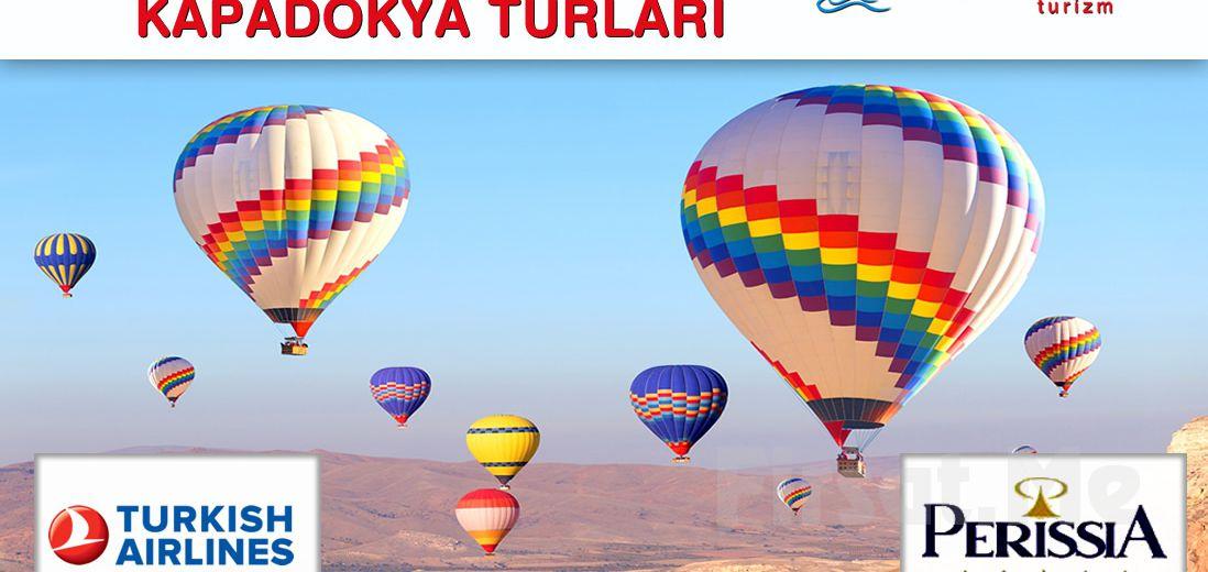 Sarıçamlar Turizm'den Erken Rezervasyona Özel Kapadokya Gezisi, Gidiş-Dönüş Uçak Bileti, 5* Perissa Otel'de Konaklama, Eğlence Paketler